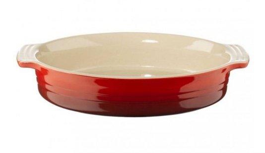 Travessa Oval Le Creuset Vermelho 36 cm