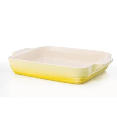 Travessa Retangular Le Creuset Amarelo Soleil 32 cm