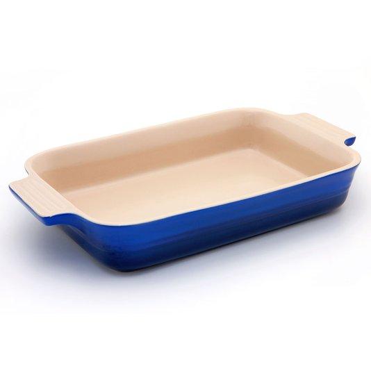 Travessa Retangular Le Creuset Azul Cobalto 26 cm
