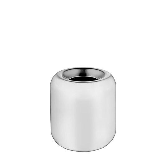 Vaso Grande Maçã Aço Inox Riva 16 cm