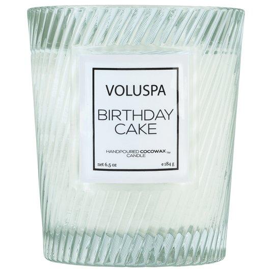 Vela Birthday Cake Macaron Copo Trabalhado Voluspa 40 Horas