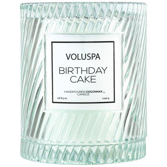 Vela Redoma Birthday Cake Macaron Voluspa 55 Horas