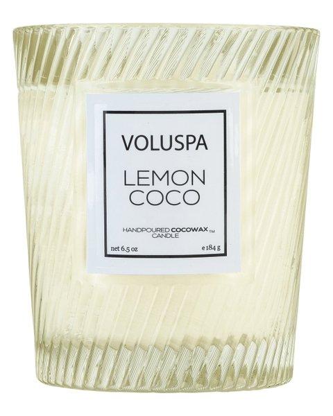 Vela Lemon Coco Macaron Voluspa 40 Horas
