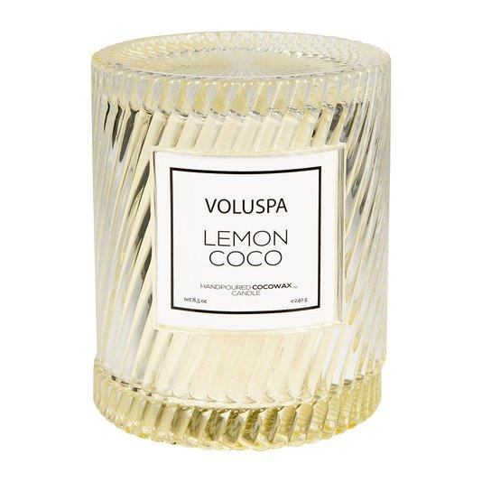 Vela Lemon Coco Macaron Copo Redoma Voluspa 55 Horas