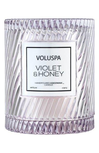 Vela Macaron Violet & Honey Voluspa 55 Horas
