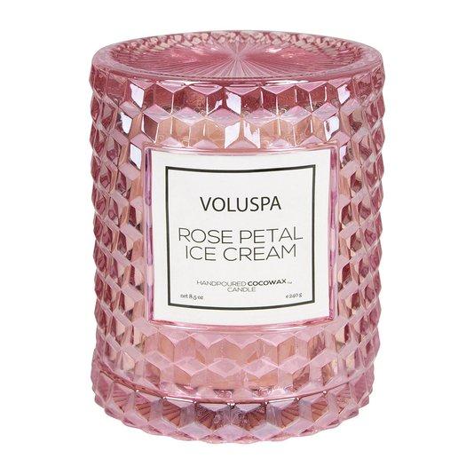 Vela Rose Petal Ice Cream Roses Voluspa 55 Horas