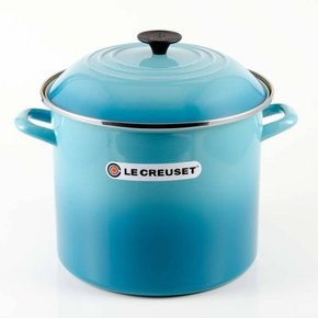 Panela Stock Pot Le Creuset Azul Caribe 22 Cm