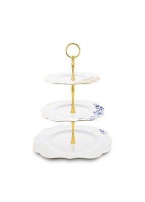 93e5bb6a8d Prato para Doces Royal White Pip Studio Branco 35 cm