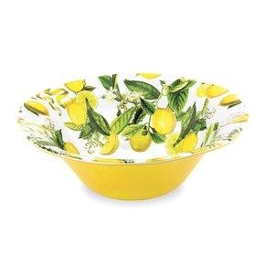Tigela Bowl Lemon em Melamina Michel Design Works 35 cm