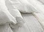 Almofada Romanzini com Recheio 600 Fios Trussardi Branco 30X40 cm