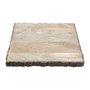 Bandeja Quadrada de Madeira Com Suporte Rojemac 32 cm