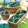 Bowl de Madeira Bon Gourmet Rojemac Leafage 20cm x 5cm