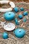 Caneca Capucciono Le Creuset Azul Caribe 200 ml