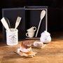 Conjunto 05 Peças Utensílios Para Cozinha Com Suporte De Cerâmica Bon Gourmet