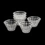 Conjunto com 6 Bowls de Cristal Diamond Rojemac 12,5x7,5