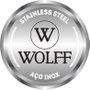 Faqueiro 48 Peças Pisa Aço Inox com Caixa de Papelão Wolff