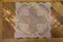 Guardanapo de Tule Bordado Manu Fisch 47 cm