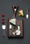 Jogo de 4 Facas para Queijo Cassino Riva Inox
