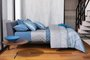 Jogo 3 Peças Capa de Edredom Duvet Hudson By The Bed 300 Fios Queen