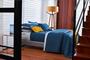 Jogo de Capa Edredom King The Hustle 300 Fios By The Bed Estampado  2,60 x 2,80m