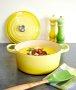 Panela Redonda Signature Le Creuset Amarelo Soleil 24 cm