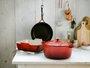 Panela Redonda Signature Le Creuset Vermelho 30 cm