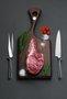 Conjunto Trinchante para Carne 2 Peças Cassino Riva Inox