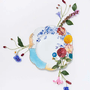 Prato de Jantar Royal Pip Studio Colorido 28 cm