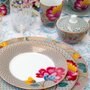 Prato de Sobremesa Floral Fantasy Pip Studio Caqui 21 cm