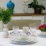 Prato de Sobremesa Royal White Flowers Pip Studio 23 cm