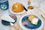 Prato de Sobremesa Spring to Life  Pip Studio Azul 21 cm