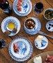 Prato de Sopa Rim Stripes Sharing Moments Janny Van der Heijden