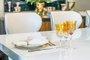 Taça para Champagne em Cristal Overley Mozart Âmbar 210 ml