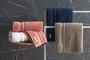 Toalha de Banho G Lorenzi Trussardi Soft Rose 86X150 cm