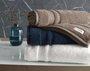Toalha de Rosto Lorenzi Trussardi Gelo 48X80 cm